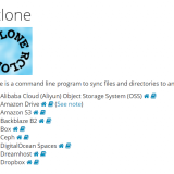 rcloneでOSSへバックアップ #1 基本編