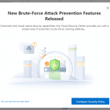 Alibaba Cloud Security Center #7 New Brute-Force Attack Prevention を試す