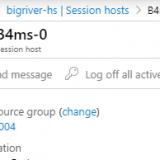 WVD Spring 2020 #11 Azure Portal からSession hosts を管理する